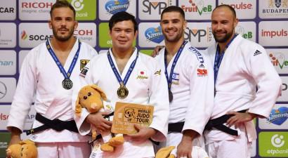 """Džudists Borodavko izcīna bronzas medaļu """"Grand Prix"""" turnīrā Budapeštā"""