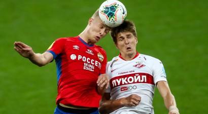 """CSKA derbijā pieveic """"Spartak"""", pārtraucot sešu neuzvarēto spēļu sēriju"""