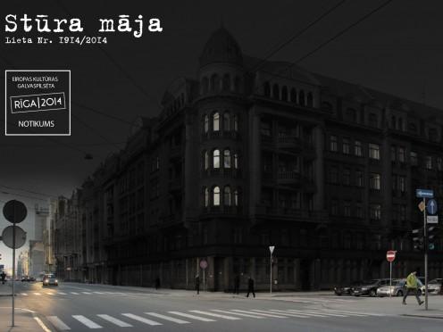 """Vēl tikai mēnesi būs skatāma Rīga 2014 ekspozīcija """"Stūra māja. Lieta Nr.1914/2014"""""""