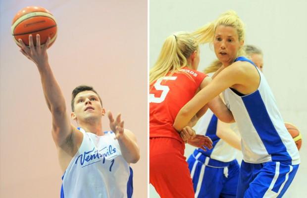 Ventspils basketbolisti turpina cīņu par Latvijas Olimpiādes finālu