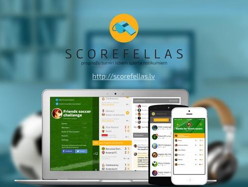 Scorefellas.lv - Jauni prognožu konkursi sporta līdzjutējiem
