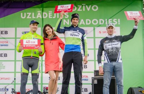 Raivis Zīmelis atgūst otro vietu Latvijas amatieru MTB rangā