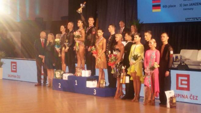 Eiropas kausā 10 dejās Latvijas pāris 4.vietā