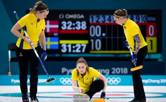 Zviedrijas un Lielbritānijas kērlingistes vareni sāk olimpisko turnīru