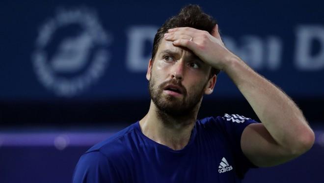 """Gulbja spēle Francijas """"Challenger'' turnīrā pārtraukta lietus dēļ"""
