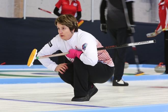 Pasaules senioru kērlinga čempionātā Latvijas sieviešu izlase izcīna uzvaru