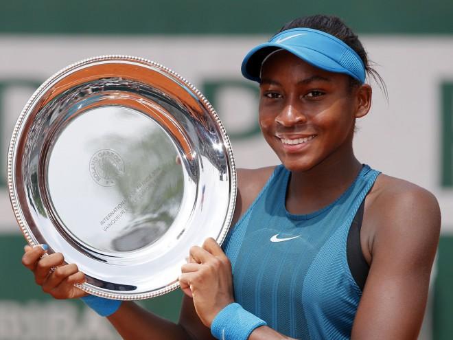 """""""French Open"""" junioru turnīrā uzvar 14 gadus vecā Gofa"""