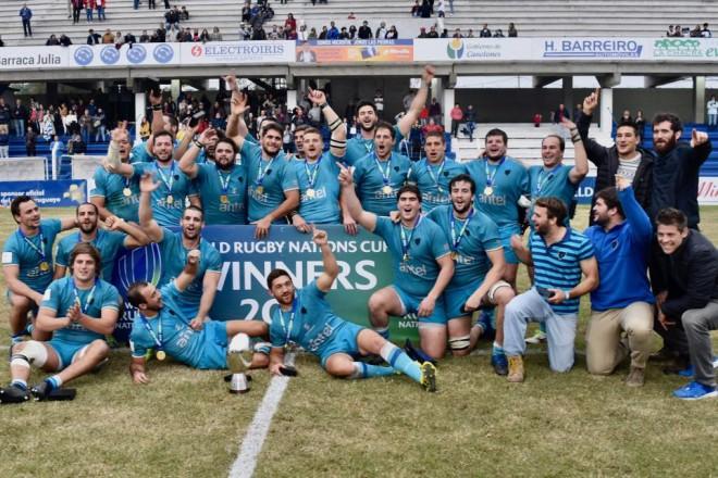 Urugvaja atkārtoti uzvar Nāciju kausā