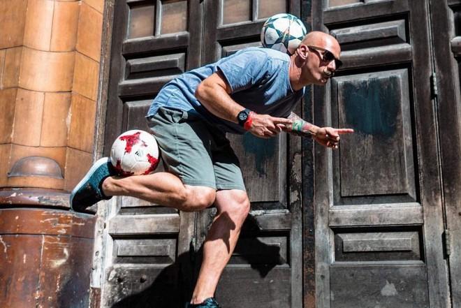 4. jūlijā Grīziņkalnā sacentīsies Eiropas futbola frīstaila uzlecošās zvaigznes