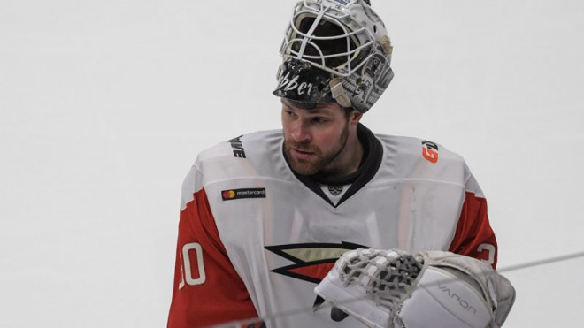 Hārtlija komandas vārtsargs atzīts par labāko KHL pirmajā nedēļā