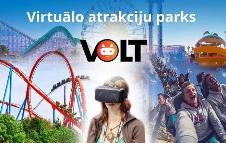 Rīgā atklāts otrais virtuālo atrakciju parks VOLT