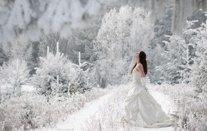 Kāzas ziemā. Idejas un ieteikumi