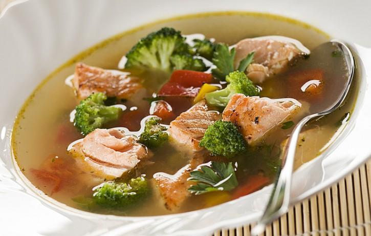 Dzidrā zivju zupa