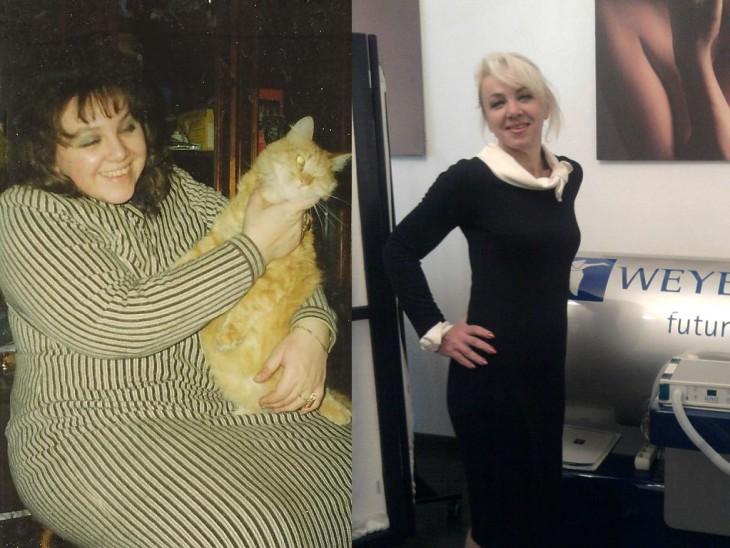 Tatjanas iedvesmojošās pārvērtības jeb kā zaudēt liekos 60 kg. 1.daļa