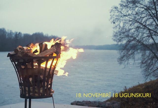 Likteņdārzs 18. novembrī aicina uz 18 ugunskuru iedegšanu saulrietā