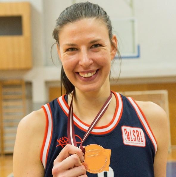 In Latvian Woman Basketball League 115