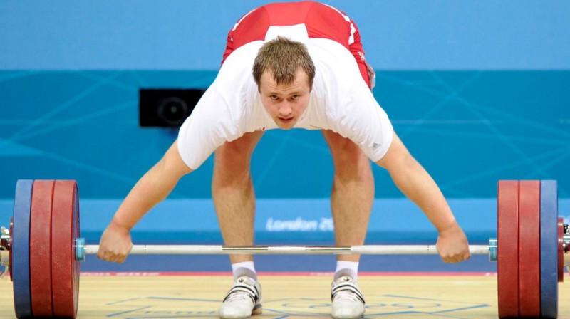 Artūrs Plēsnieks Londonas olimpiskajās spēlēs. Foto: Romāns Kokšarovs, Sporta Avīze, F64