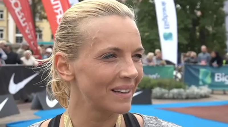 Kristīne Kuzņecova. Foto: Ekrānuzņēmums