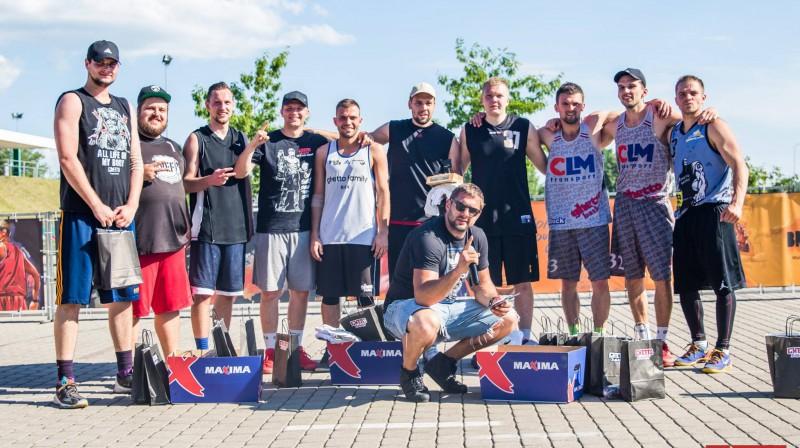 Jelgavas posma Vīriešu grupas laureāti Publicitātes foto