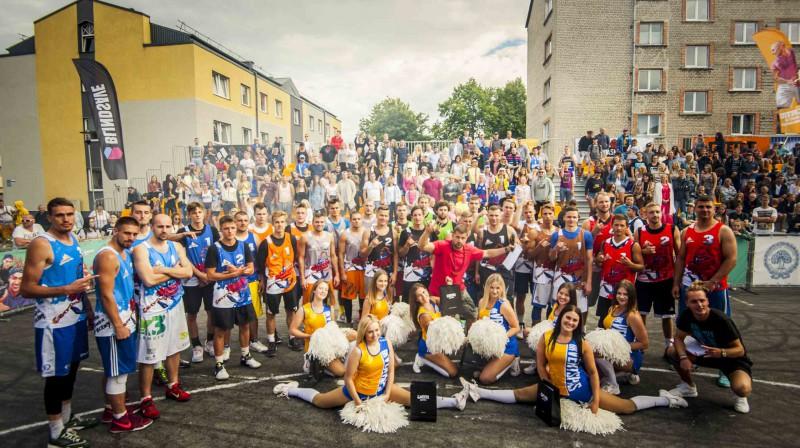 """""""Ghetto Games"""" festivāla Ventspilī noslēgumā tika noteiktas labākās komandas """"Ghetto Basket"""" Publicitātes foto"""