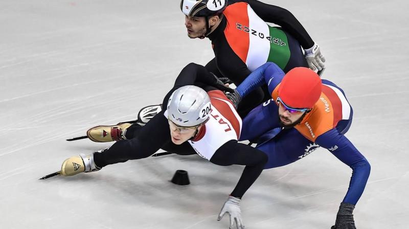 Roberto Puķītis Eiropas čempionātā Foto: RIA Novosti/Scanpix