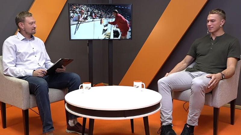 Jānis Freimanis un Patriks Gailums Foto: Ekrānuzņēmums