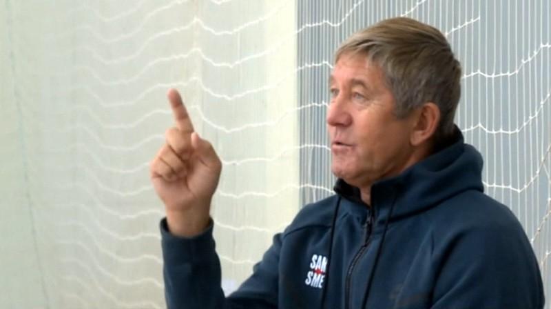 Genādijs Samoilovs. Foto: LTV1 Sporta ziņas