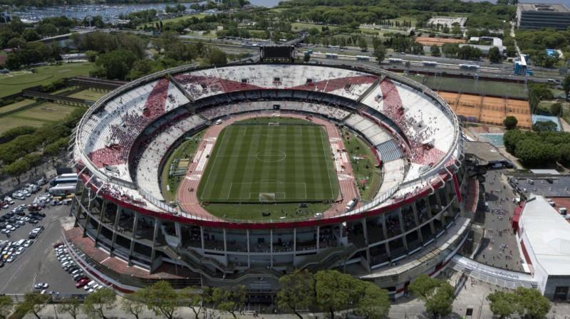 """River Plate"" stadions Buenosairesā. Foto: AFP / Scanpix"