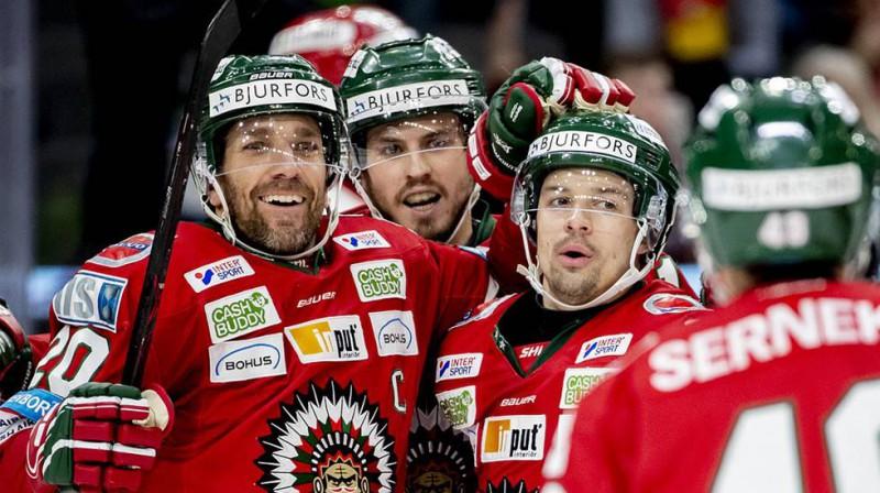 """Zviedrijas """"Frolunda"""" ceturto reizi komandas vēsturē iekļūva IIHF Čempionu līgas finālā"""