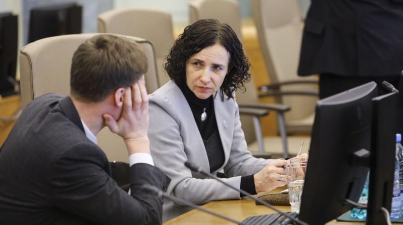 Izglītības un zinātnes ministre Ilga Šuplinska. Foto: Dmitrijs Suļžics, f64