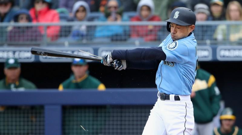 Ičiro Suzuki Foto: AFP/Scanpix