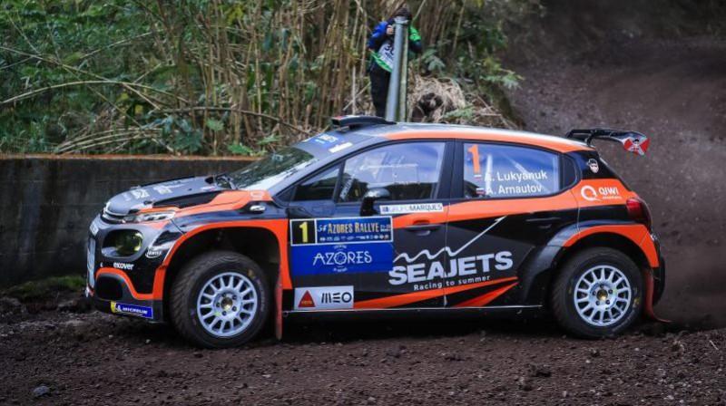 Aleksejs Lukjaņuks Foto: FIA ERC