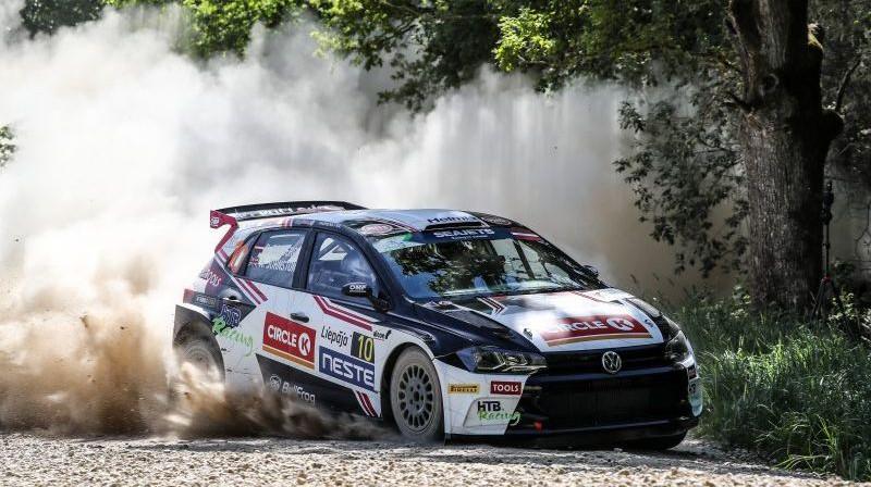 """Ulivera Sūlberga ekipāža """"Rally Liepāja"""". Foto: fiaerc.com"""