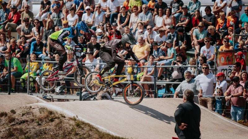 BMX seozna turpināsies Mārupē Foto: BMX kluba Mārupe arhīvs
