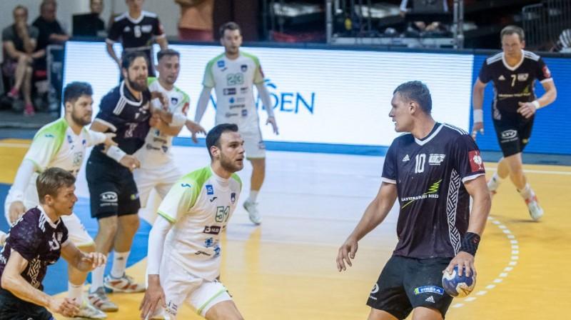 Dainis Krištopāns. Foto: Raivo Sarelainens, handball.lv