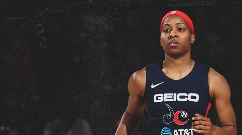 Šeja Pedija: 14 spēles WNBA un bilance 10-4. Foto: Mystics