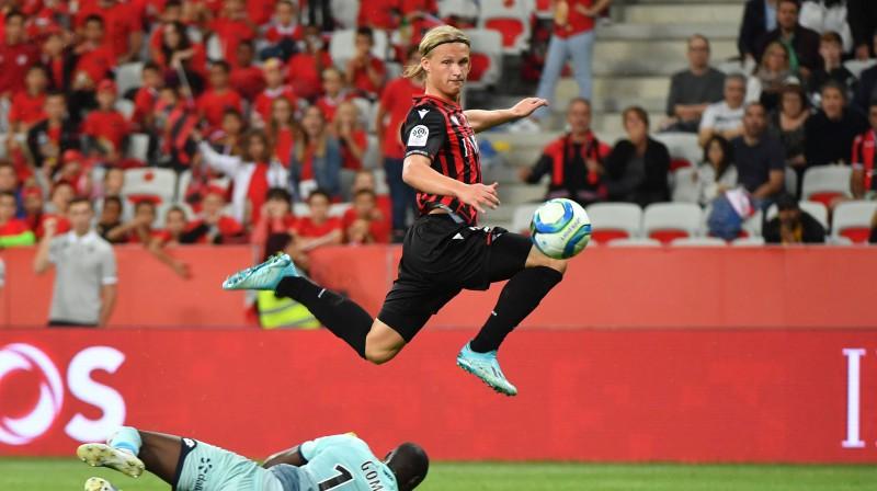 Kaspers Dolbergs. Foto: AFP/Scanpix