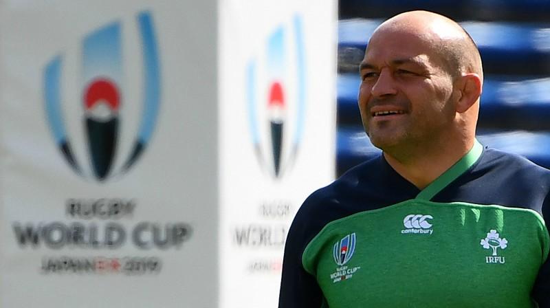 Īrijas izlases kapteinis Rorijs Bests Foto: AFP/Scanpix