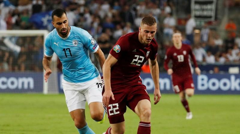 Vladislavs Gutkovskis (nr. 22). Foto: Reuters/Scanpix