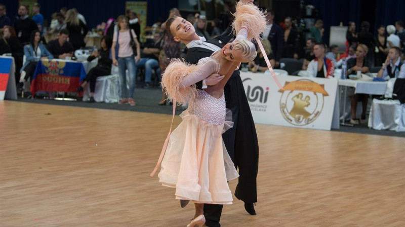 A.Griņēvičs/K.Dobrovoļskite. Foto: Worlddancesport.org