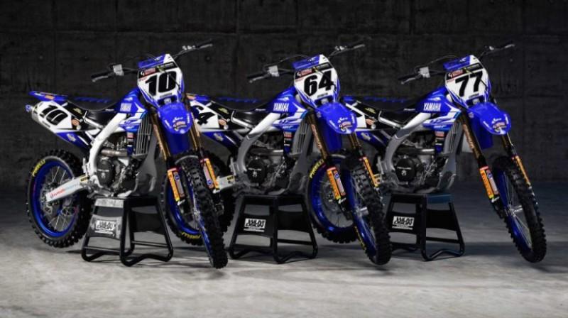 """Gebben van Veenroy Racing"" komandas motocikli. Foto: publicitātes"