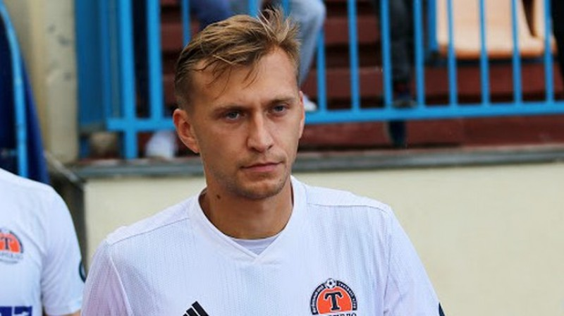 Vladislavs Kļimovičs vēl Žodzinas kluba kreklā. Foto: torpedo-belaz.by