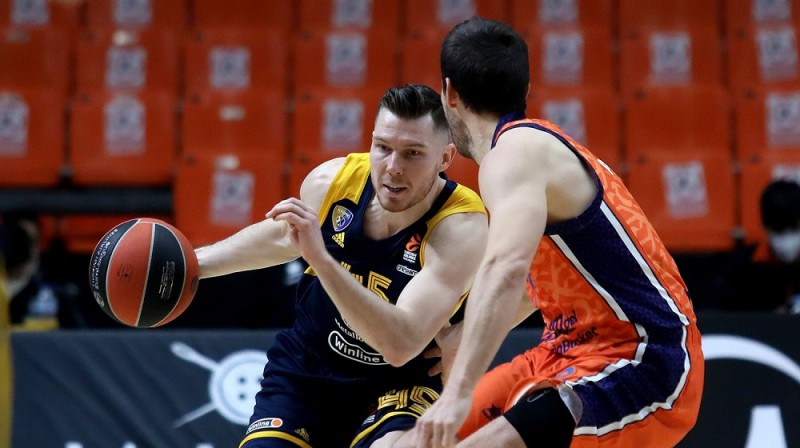 Dairis Bertāns. Foto: Euroleague