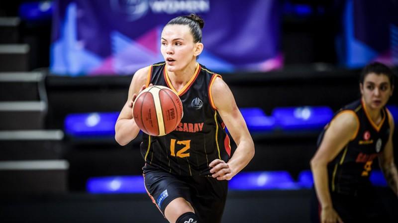 Anete Šteinberga. Foto: FIBA