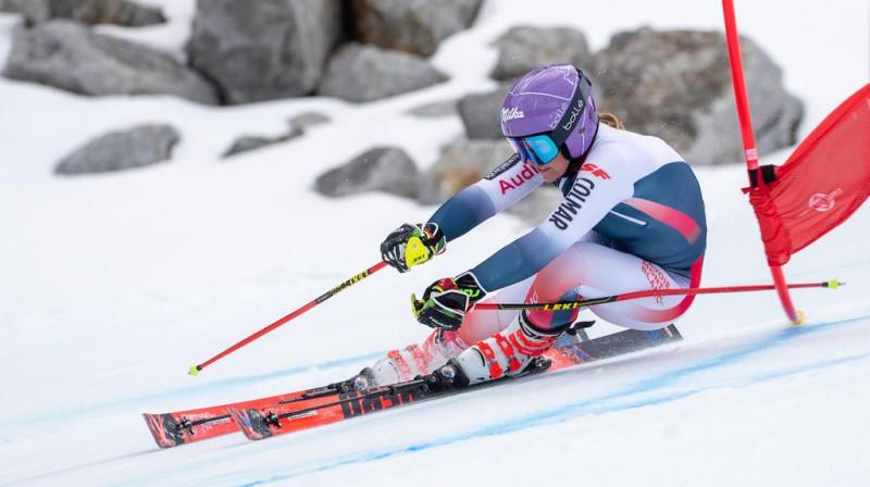 Tessa Vorleja trīspadsmit gadu garumā spēj izcīnīt uzvaras pasaules kausa posmos. Foto:Johann GRODER / EXPA / APA / AFP