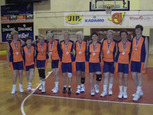 Latvijai zelts pasaules čempionātā maxibasketbolā