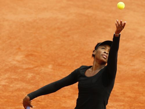 """French Open"" statistika: V. Viljamsai ātrāka serve par Nadala"