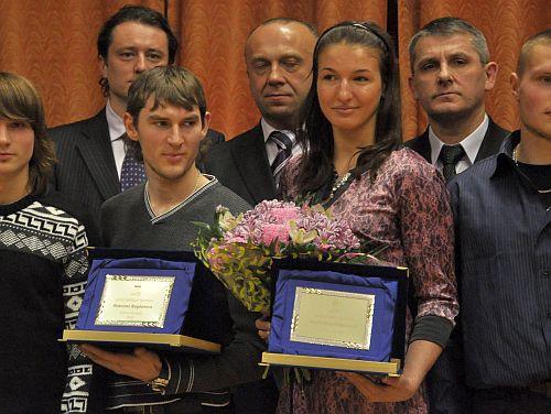 Bogdanovs un Grigorjeva - labākie gada sportisti Daugavpilī