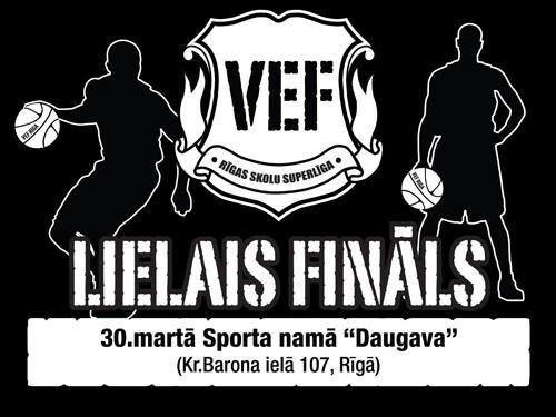 """""""VEF Rīgas skolu superlīgas"""" fināls 30. martā sporta namā """"Daugava"""""""