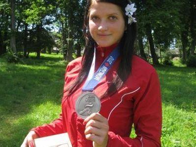 Mūzei Latvijas junioru rekords šķēpmešanā